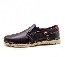 Zapatos Hombre Estilo Náutico Mod 176 Azul 2bfdc85a164