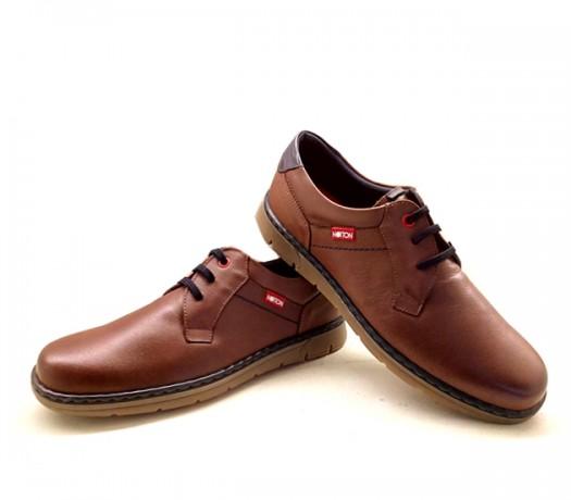 Zapatos Hombre Con Cordones 166 Camel