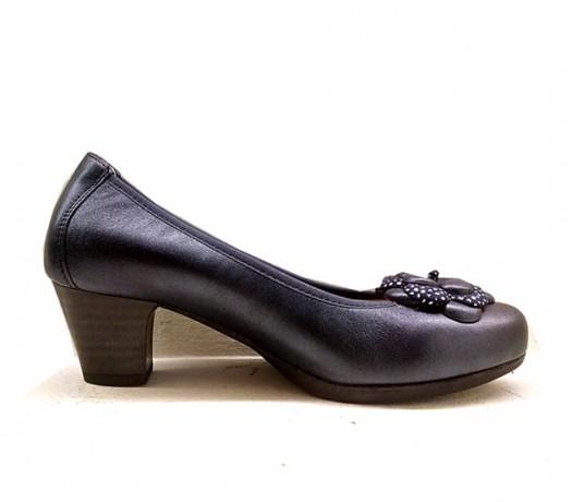 Zapatos Pitillos Para Mujer 1241 Azul