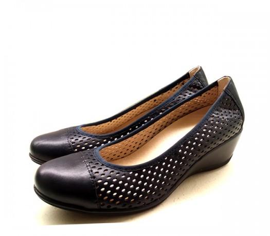Zapatos Pitillos 1222 Azul