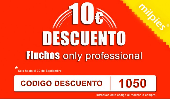 Código descuento para Fluchos Only Professional