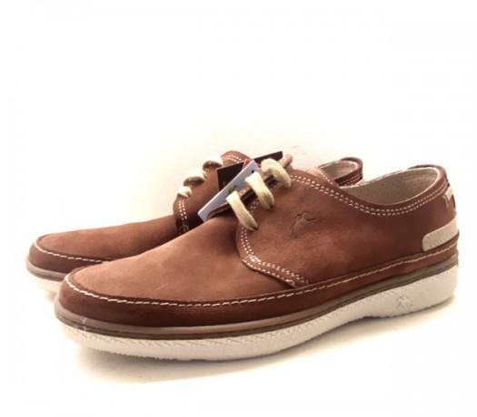 Zapatos Fluchos Serraje Marrón