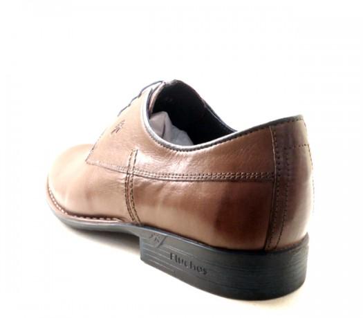 Zapatos Fluchos Memory Color Cuero