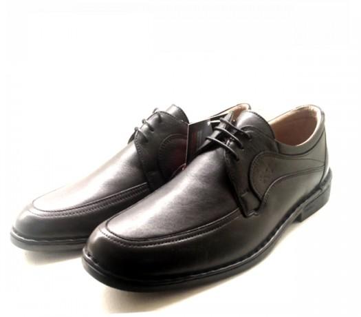 Zapatos hombre con cordones 8113 Negro