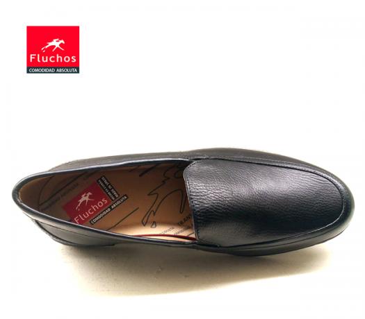 Zapatos sin cordones Fluchos 8118 Negro