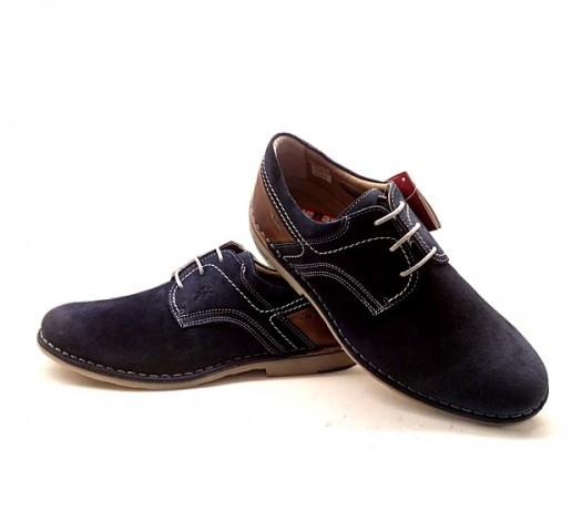 Zapatos Fluchos Huellas 9384 azul