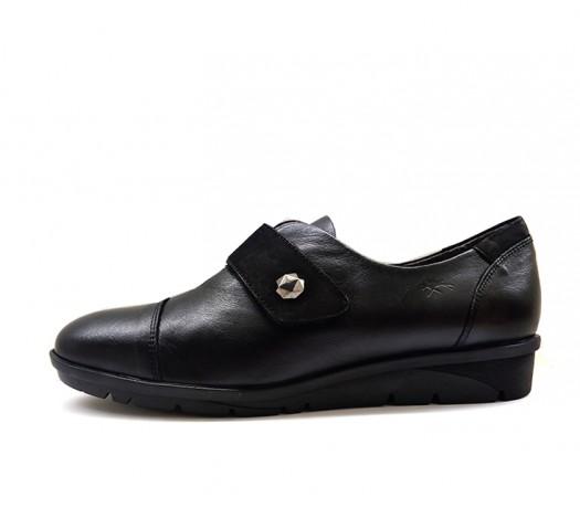 Fluchos Mujer Velcro 9642 Negro