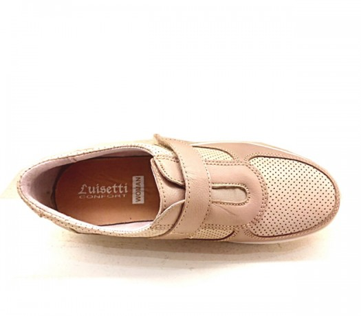 Zapatos Mujer Confort Lady Beige