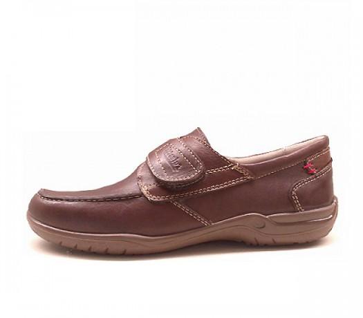 Zapatos Con Cierre En Velcro 19506 Marrón