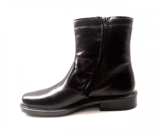 Botas De Cremallera Hombre 152 Negro