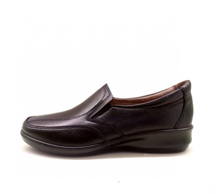 Luisetti confort lady 305 negro - Zapatos camarera antideslizantes ...