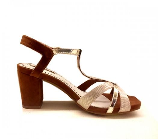 Sandalias Mujer CHK10 Camel
