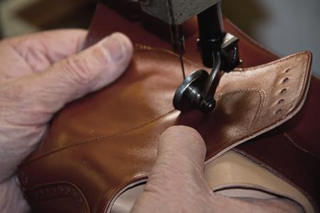 Hojales para cordones en los zapatos